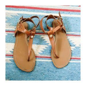 EUC   Ralf Lauren   Tan Thong Sandals